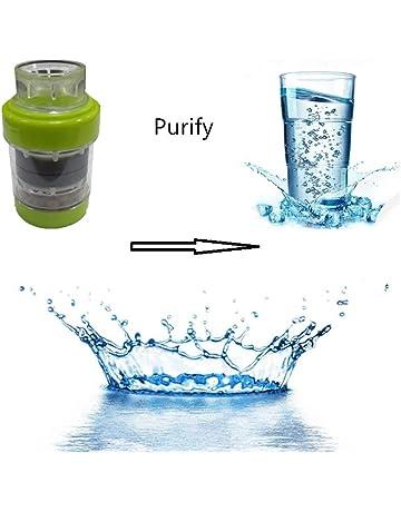 Filtro de Agua del Grifo, GHONLZIN Cocina Imán Purificador de Agua Filtro de Grifo de Agua para el Hogar o la Cocina (Green): Amazon.es: Bricolaje y herramientas