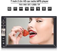 """Qiilu 7"""" 2Din Autoradio de Voiture FM Stéréo MP3 Lecteur Audio"""