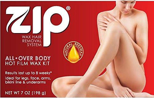 Zip Wax Hot Wax Hair Remover 7 Oz