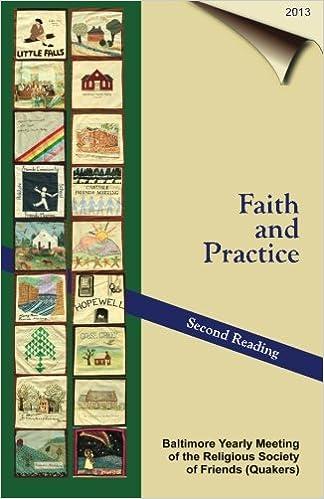 Faith & Practice - 2013: Second Reading