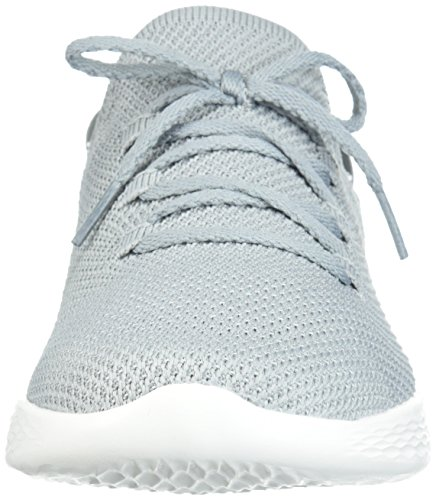 Sneaker on Skechers You Spirit Weiss Slip Damen Grau Marineblau HHwIq