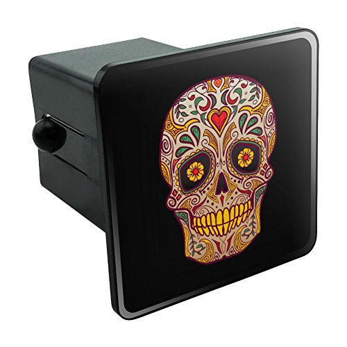 Skull Day of the Dead Southwestern Tow Trailer Hitch Cover Plug Insert 2