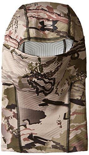 Under Armour Mens ColdGear Infrared Scent Control Hood, Ridge Reaper Camo Ba (901)/Black, One Size