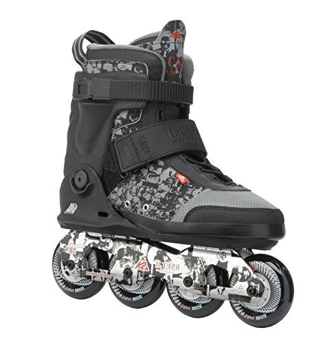 運命的なあなたはフィット[ケーツー] メンズ インラインスケート IL CAPO アイエル キャポ ブラック/シルバー I150202201