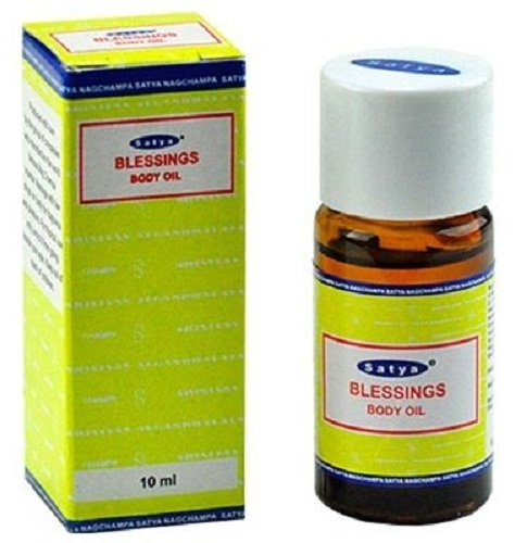 Blessings - Satya Sai Baba Nag Champa Body Oil 10 Ml Bottle