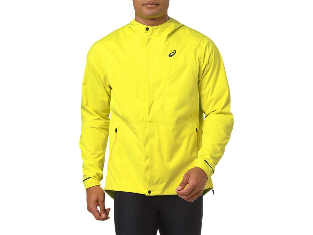 ASICS Men's Accelerate Jacket Running Clothes, XL, Lemon Spark by ASICS (Image #1)