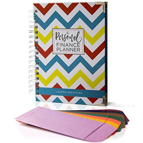 Financial Planner Organizer Budget Book - THE PERSONAL FINANCE PLANNER -The most COMPLETE monthly bill organizer, budget & bill tracker, journal book, & get out of debt day planner (Chevron - Day Next Tracking