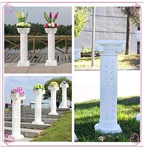 2pcs Height Adjustable Plastic Roman Column photography prop Wedding Decorative