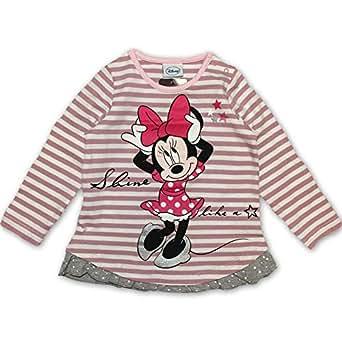 DISNEY Niñas Minnie Mouse Camisa, rosa, talla 80, 12 meses: Amazon.es: Ropa y accesorios