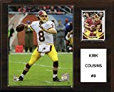 "C&I Collectables NFL Washington Redskins Kirk Cousins Player Plaque, 12""x15"""