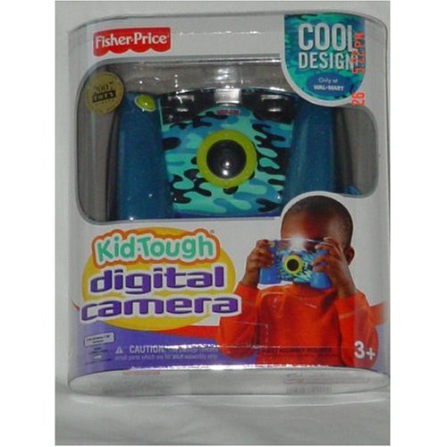 Fisher Price Digital Camera Kid Tough Blue Cool Design ()