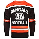 Cincinnati Bengals Ugly Glow In The Dark Sweater - Mens - Mens Medium