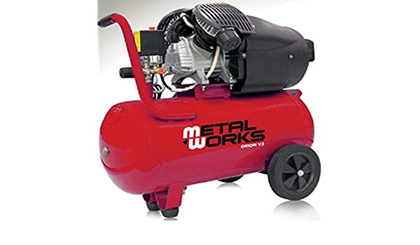Compresor de aire 3cv. 2 cilindros/2etapas 50 litros: Amazon.es: Bricolaje y herramientas