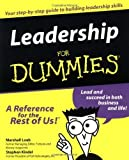 img - for Leadership For Dummies by Marshall Loeb (1999-08-24) book / textbook / text book