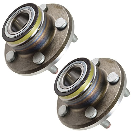 TRQ Front Wheel Hub & Bearing Pair for Challenger Charger Magnum 300C RWD 2WD by TRQ (Image #5)