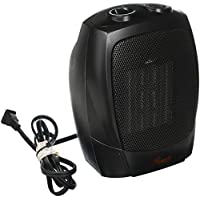 Rosewill RHAH-13001 1500W Quick Heat Ceramic Heater with Safety Tip Over Switch