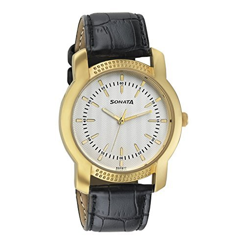 Sonata Elite Analog Multi-Colour Dial Men's Watch - 7093YL01