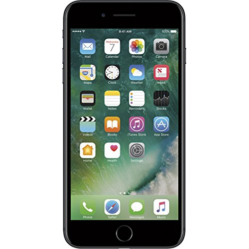 Apple iPhone 7 Plus, GSM Unlocked, 32GB - Black (Certified Refurbished)