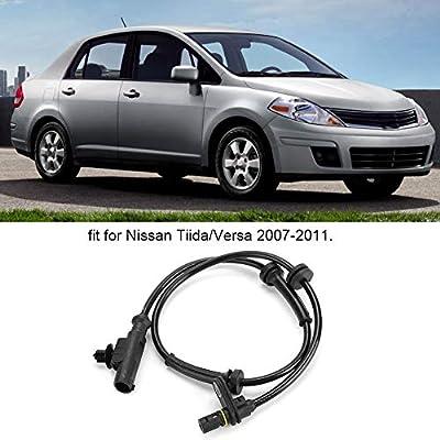 Akozon Wheel Speed Sensor 47900-EL00A Rear Right ABS Wheel Speed Sensor Fits for Nissan Tiida & Versa 2007-2011: Automotive