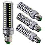 HUIERLAI 4-Pack 15W Super Bright LED Corn Bulb For Residential and ...