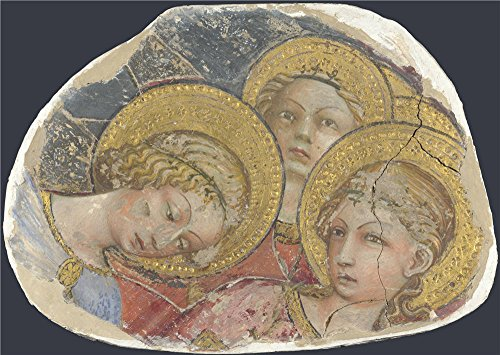 'Italian Tuscan Heads Of Angels ' Oil Painting, 24 X 34 Inch / 61 X 86 Cm ,printed On High Quality Polyster Canvas ,this Replica Art DecorativePrints On Canvas Is Perfectly Suitalbe For Kitchen Gallery Art And Home Artwork And Gifts