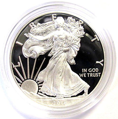 2016 W American Silver Eagle Proof $1 OGP US Mint