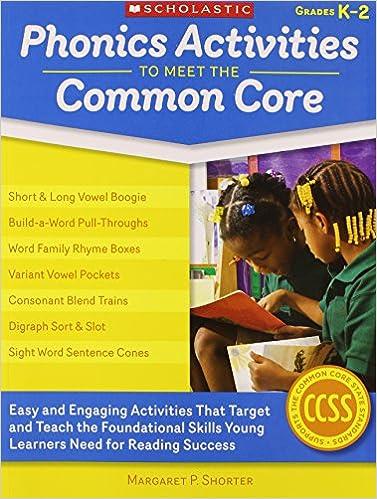 Amazon.com: Phonics Activities to Meet the Common Core: Easy and ...