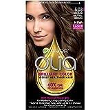 Garnier Olia Ammonia-Free Brilliant Color Oil-Rich Permanent Hair Color, 5.03 Medium Neutral Brown (1 Kit) Brown Hair Dye