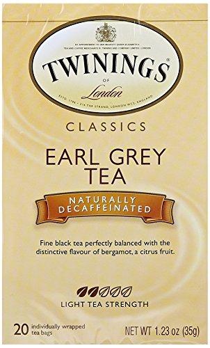 (Twinings Earl Grey Decaf Tea, 20 Count)