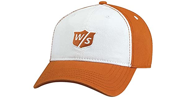 Wilson Staff 2015 Relajado Gorra de Golf, Mujer, Naranja: Amazon ...
