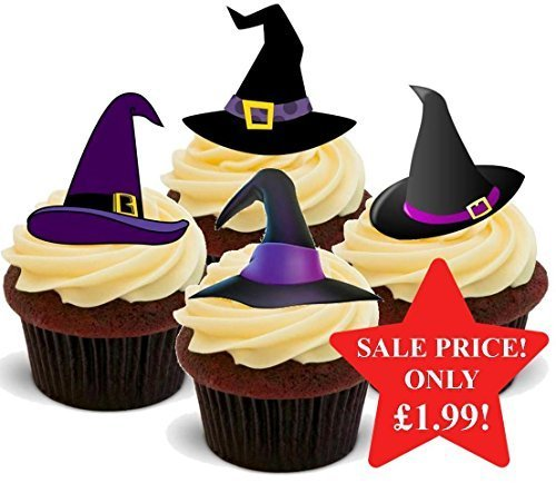 Halloween Witches Hat Purple Mix - Fun Novelty