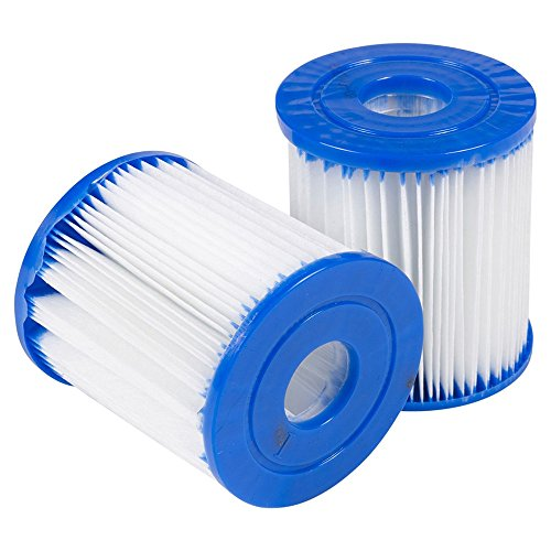 (BeautyShe 2pcs/4pcs/6pcs Pool Filter Replaces Filter Cartridge for Swimming Pool Spa Rising Dragon, Filter Pump)