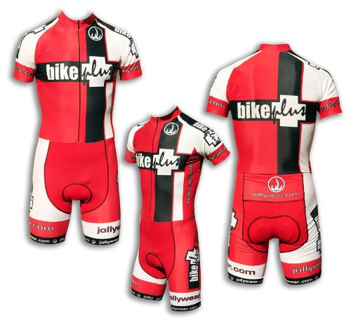 "JOLLYWEAR Cycling Skinsuit - short sleeves and legs (""BIKE PLUS"" collection) XL"