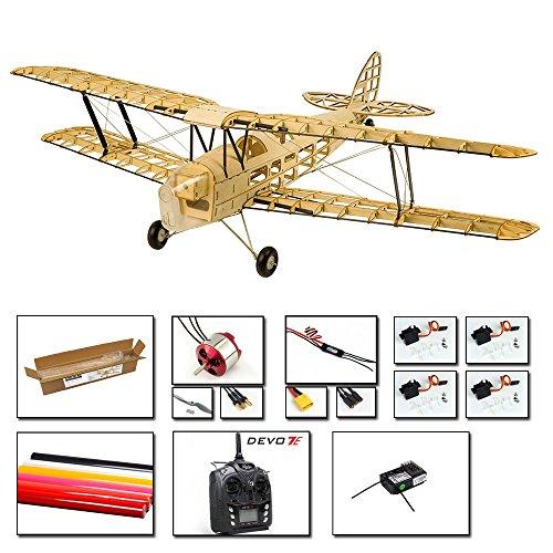 Upgrade Balsa Wood Airplane Kits Mini Tiger Moth, 39