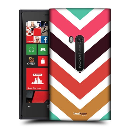 Head Case Designs Downhill Arrows Chevron and Arrows Protective Snap-on Hard Back Case Cover for Nokia Lumia 920