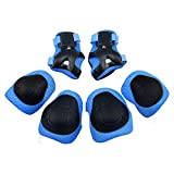 GIM Child's Pad Set with Knee Elbow and Wrist (Blue)
