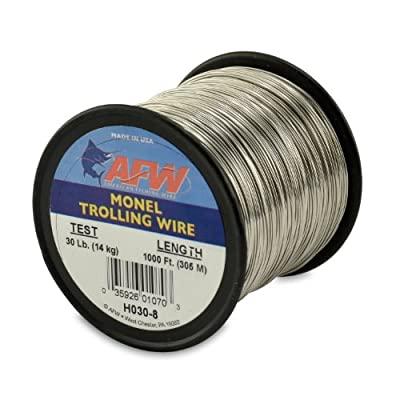American Fishing Wire Monel Trolling Wire Single Strand by American Fishing Wire