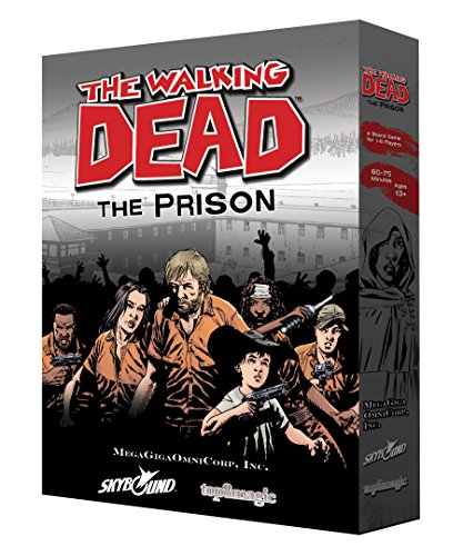 The Walking Dead: The Prison Board Game (Best Graphic Novel Review Sites)
