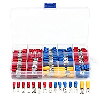 High Quality 540x Various Insulated Wire Terminal Crimping Connector Spade Set.