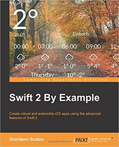 Swift 2 by Example ISBN-13 9781785882920