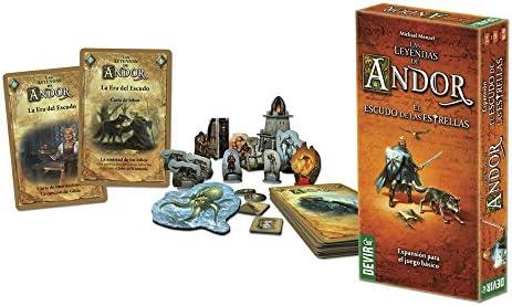Devir-Las Leyendas de Andor: El Escudo de Las Estrellas Juego de Mesa +10 Años, Multicolor (BGANDESC): Amazon.es: Juguetes y juegos