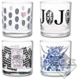 一番くじ ジョジョの奇妙な冒険 Part1~3 G賞 グラス 全4種セット