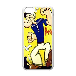 Personalized Creative Popeye the Sailor man Slim-fit Design For iPhone 5C PQ27Q3251