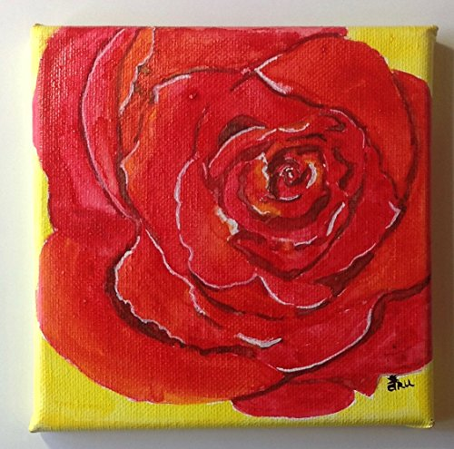 home-decor-wall-art-art-painting-flower-decor