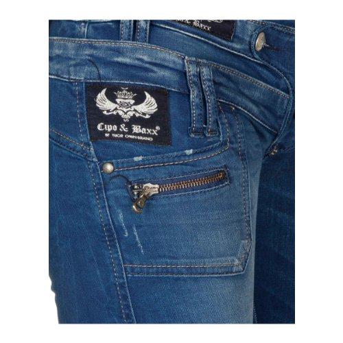 "Cipo & Baxx Jeans ""CBW de 0282Blue azul marino"