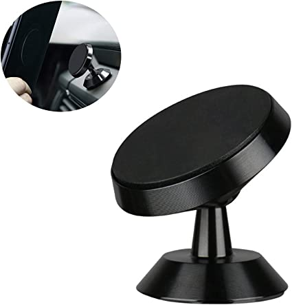 Car Phone Holder, 360° Rotation Grip Universal Center Console ...