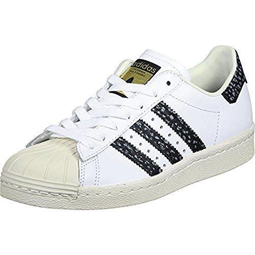 competitive price b517d 5d611 Galleon - Adidas Originals Men s   Superstar 80s Shoes, White Vapour Green Off  White, 9 M US