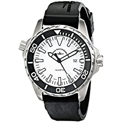 Zeno Men's 6603-515Q-A2 Divers Black Rubber Strap Watch