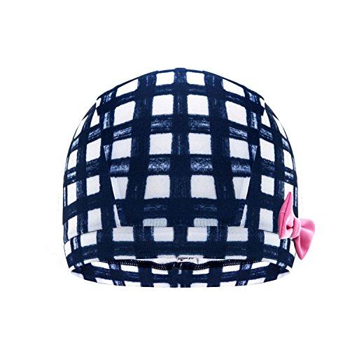 H&C kids Breathe Swim Cap-Sun Protection Hat and Children Bathing Hat-Black Pflower