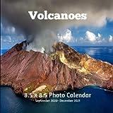 Volcanoes 8.5 X 8.5 Calendar September 2020